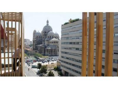 Vue sur cathédrale de la major