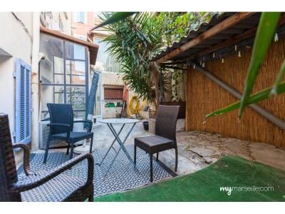 location appartement meubl 2 pi ces 31m saint lambert 7 me marseille ref 84783. Black Bedroom Furniture Sets. Home Design Ideas