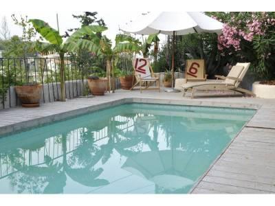 location maison meubl e 6 pi ces 170m piscine le roucas blanc 7 me marseille ref 66114. Black Bedroom Furniture Sets. Home Design Ideas