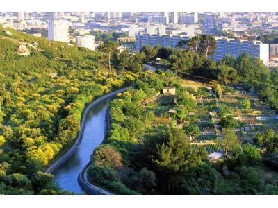 Les Borels - Canal de Marseille (Vue 2)