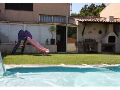 jardin et piscine